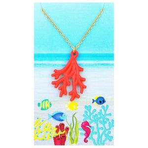 Coral Reef NecklaceBoutique, used for sale